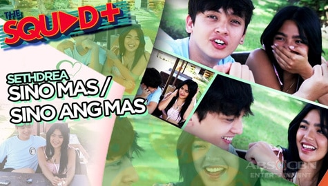 WATCH: Sino Ang Mas Challenge with Seth and Andrea | The Squad+ Image Thumbnail