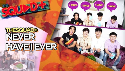 WATCH: Never Have I Ever with Squad Plus Boys | The Squad+ Image Thumbnail