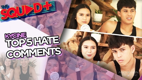 WATCH: Top 5 Hate Comments with Kyle and Francine | The Squad+ Image Thumbnail