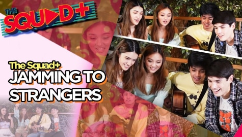 WATCH: Music Jamming to Strangers with KD, Angela, Kobie and Sam | The Squad+ Image Thumbnail