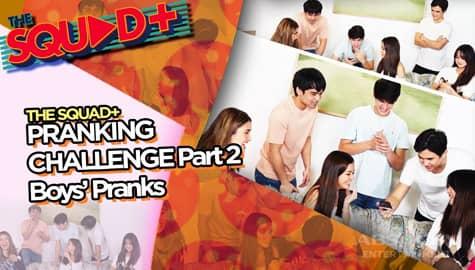 PART 1: Pranking Challenge with Ashton, Kobie and Nio | The Squad+ Thumbnail