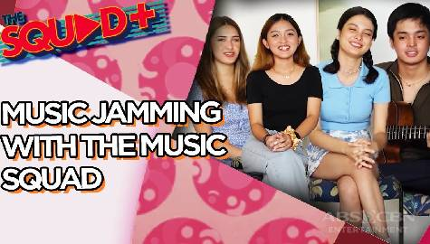 WATCH: Music Jamming with Angela, Sam, Anji and KD | The Squad+ Image Thumbnail