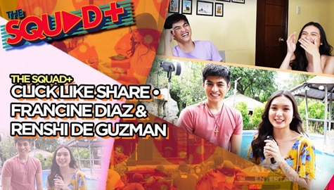 WATCH: Click Like Share Set Tour with Francine and Renshi | The Squad+ Image Thumbnail