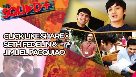 WATCH: Click Like Share Set Tour with Seth and Jimuel | The Squad+ Image Thumbnail