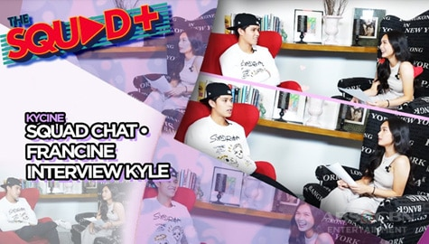 WATCH: Kyle answers most controversial questions of Francine | The Squad+ Image Thumbnail