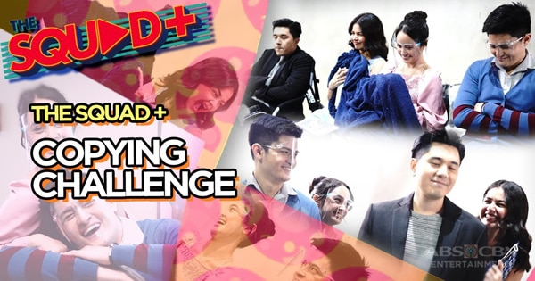 WATCH: Copying Challenge with Paulo and Janine | The Squad+