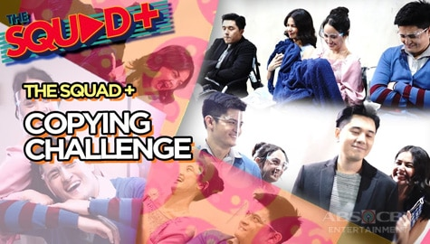 WATCH: Copying Challenge with Paulo and Janine | The Squad+ Image Thumbnail