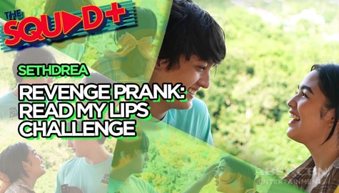 WATCH: Read My Lips Challenge with Seth and Andrea | The Squad+ Thumbnail