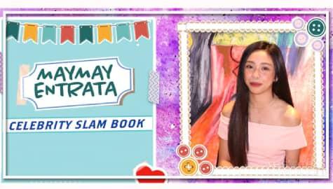 Maymay Entrata on Kapamilya Celebrity Slambook Image Thumbnail