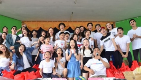 """Star Magic artists prove that """"Family Is Forever"""" in recent outreach program in Bulacan Image Thumbnail"""