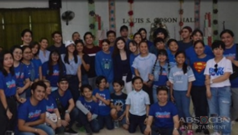 Star Magic artists bring Christmas cheer to elderly in GRACES Home event Image Thumbnail