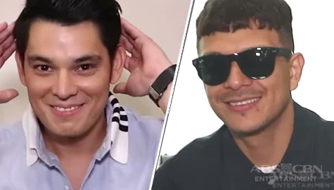 Jericho Rosales and Richard Gutierrez take on the Star Magic Out Of The Box Challenge Image Thumbnail