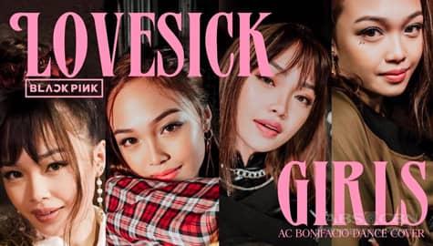 "WATCH: AC Bonifacio's BLACKPINK's ""Lovesick Girls"" dance cover is now trending on YouTube Image Thumbnail"