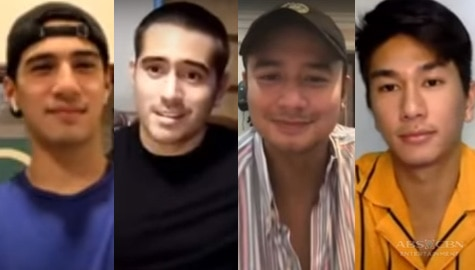 Star Magic Lounge: Gerald, Albie, Nikko, and JM reveal who works out the hardest Image Thumbnail