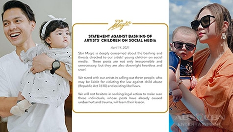 """Star Magic Inside News: Star Magic's official statement about """"baby-bashing"""" Image Thumbnail"""