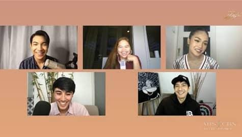 Star Magic Lounge: Darren, Edward, AC, and Robi show their real-life friendship Image Thumbnail