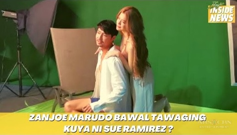 Star Magic Inside News: Zanjoe Marudo, bawal tawaging kuya ni Sue Ramirez? Image Thumbnail