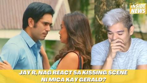Star Magic Inside News: Unang eksena ni Mica Javier with Gerald Anderson kissing scene agad! Image Thumbnail