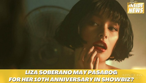Star Magic Inside News: Liza Soberano, may pasabog for her 10th anniversary in showbiz? Image Thumbnail