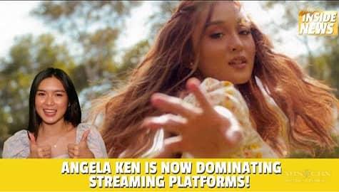 Star Magic Inside News: Angela Ken is now dominating streaming platforms! Image Thumbnail