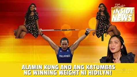 Star Magic Inside News: Hidilyn Diaz wins the Philippines first-ever Olympic gold medal! Image Thumbnail