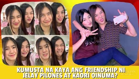 Star Magic Inside News: Kumusta na kaya ang friendship ni Jelay Pilones at Kaori Oinuma? Image Thumbnail
