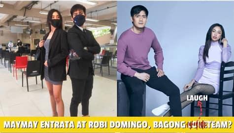 Star Magic Inside News: Robi Domingo at Maymay Entrata, ang newest Laugh Team ng bayan! Image Thumbnail