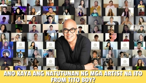 Star Magic Inside News: Ano kaya ang natutunan ng mga artists na ito from Tito Boy? Image Thumbnail