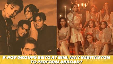 Star Magic Inside News: P-POP groups BGYO at BINI, may imbitasyon to perform abroad? Image Thumbnail