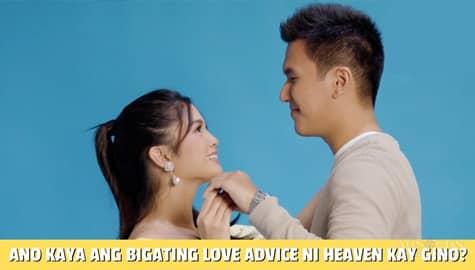 Star Magic Inside News: Ano kaya ang bigating love advice ni Heaven Peralejo kay Gino Roque? Image Thumbnail