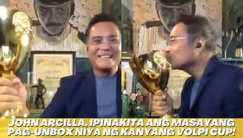 Star Magic Inside News: John Arcilla, ipinakita ang masayang pag-unbox niya ng kanyang Volpi Cup! Image Thumbnail
