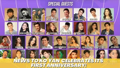 Star Magic Inside News: Star-studded ang first anniversary celebration ng News 'To Ko Yan! Image Thumbnail