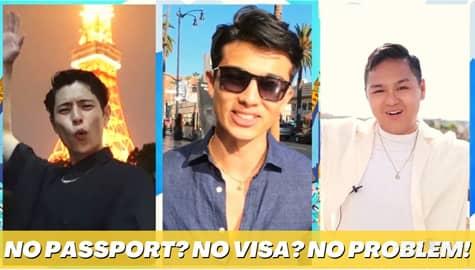 Star Magic Inside News: No passport? No visa? NO PROBLEM! Image Thumbnail