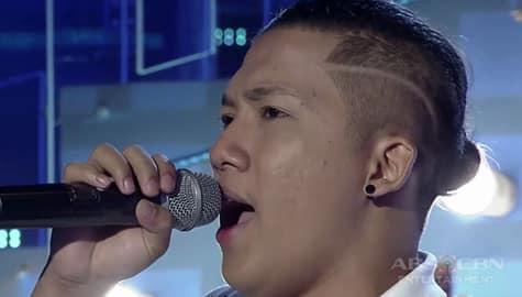 TNT 3: Metro Manila contender Patrick Caorte sings All Of Me Image Thumbnail