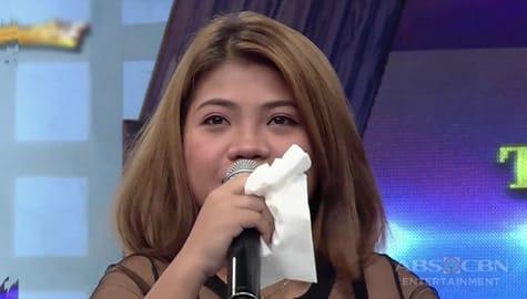 It's Showtime: Daily contender Rose Ann, naging emosyonal habang kausap si Vice Ganda Image Thumbnail