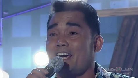 TNT 3: Mindanao contender Laurence Quinikis sings Straight From The Heart Image Thumbnail