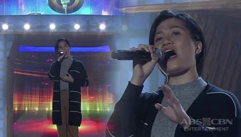 TNT 3: Luzon contender Crisha Esplago sings When You Tell Me That You Love Me Image Thumbnail