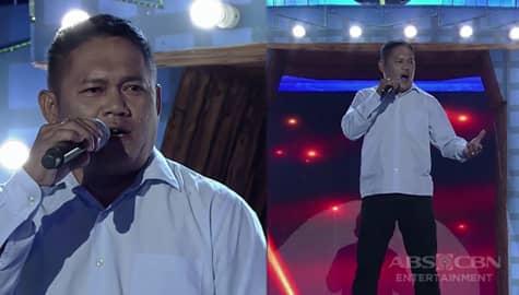 TNT 3: Visayas contender Emerson Ambalong sings My Love Will See You Through Image Thumbnail