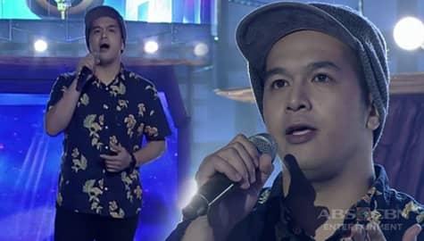 TNT: Metro Manila contender Rox Puno sings Rico J. Puno's Kapalaran Image Thumbnail