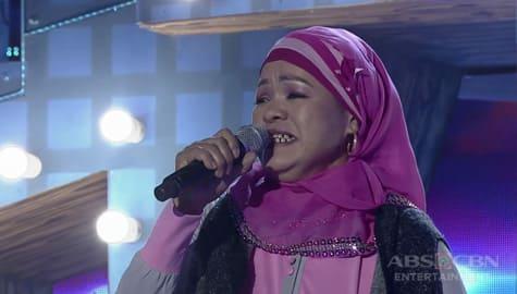 TNT 3: Mindanao contender Elnora Altrecha sings (You Make Me Feel Like) A Natural Woman Image Thumbnail