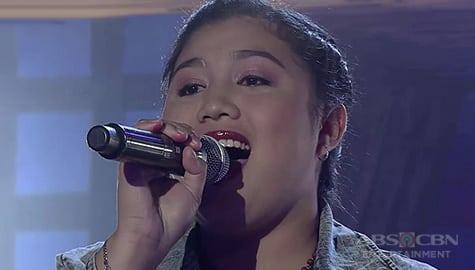 TNT 3: Visayas contender April Cordova sings Ikaw Image Thumbnail