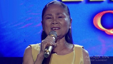 TNT 3 Quarter 4 Semifinals Day 4: Violeta Bayawa sings Yesterday When I Was Young Image Thumbnail