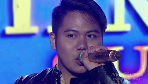 TNT 3 Quarter 4 semifinals Day 4: Dior Lawrence Bronia sings What's Image Thumbnail