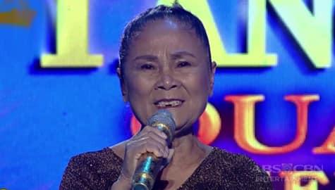 TNT 3 Quarter 4 Semifinals Day 5: Violeta Bayawa sings Loves Story Image Thumbnail