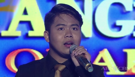 TNT 3 Quarter 4 semifinals Day 5: Dior Lawrence Bronia sings I Dreamed A Dream  Image Thumbnail
