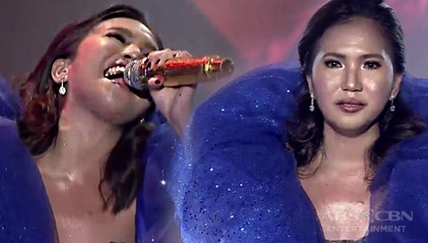 "TNT 3 Ang Huling Tapatan: Elaine Duran rocks the stage with her rendition of Shanti Dope's ""Nadarang"" Image Thumbnail"