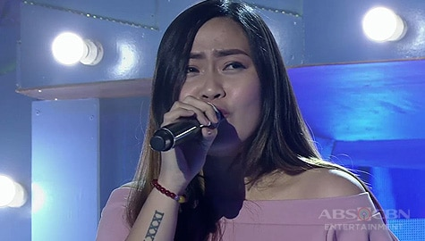 TNT 4: Luzon contender Francester Joy Yabut sings Saving All My Love For You Image Thumbnail
