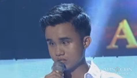 WATCH: Carlmalone Montecido sings Estudyante Blues on Tawag Ng Tanghalan Year 1 Huling Tapatan day 3 Image Thumbnail