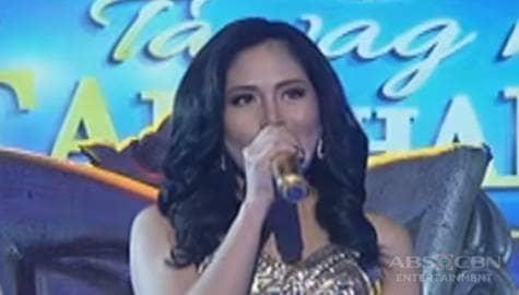 WATCH: Maricel Callo sings Gold on Tawag Ng Tanghalan Year 1 Huling Tapatan day 3 Image Thumbnail
