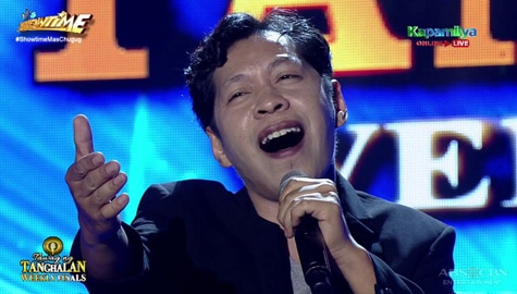 TNT Weekly Finals: Erwin Diaz sings Larry Graham's One in a Million You | Round 2 Image Thumbnail